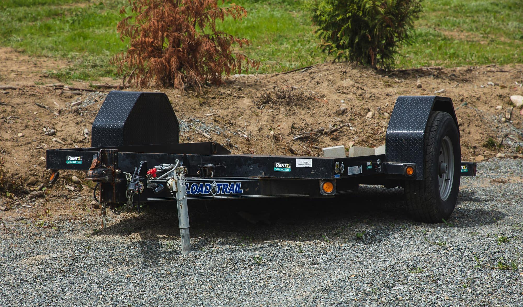 2016 Load Trail tilt deck trailer