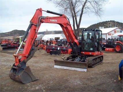 2015 Kubota KX080-4G Excavator