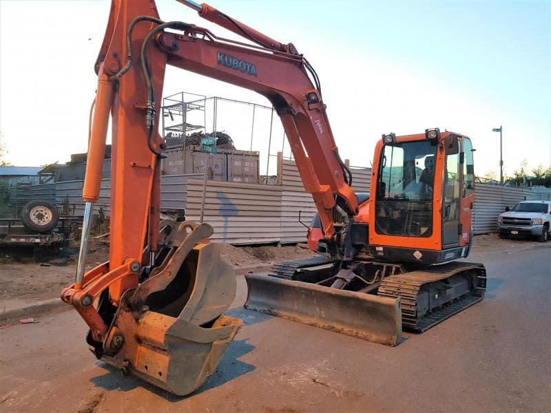 2007 Kubota KX080-3 Excavator