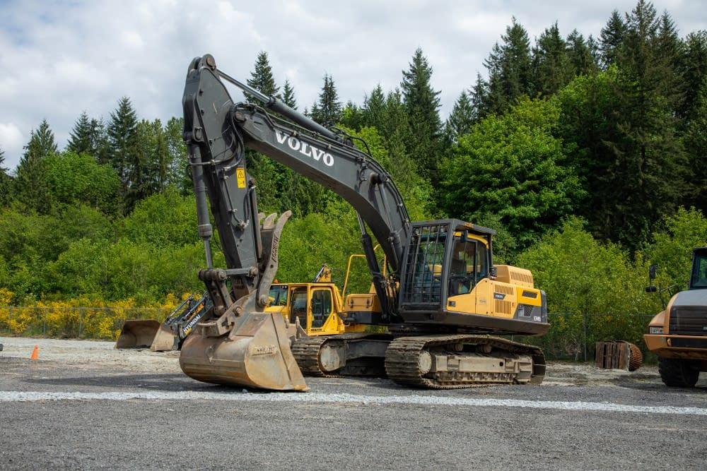 2012 VOLVO EC340DL excavator