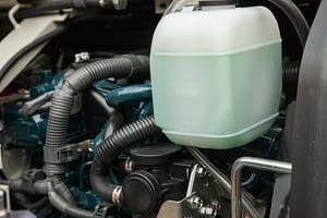 heavy vehicle engine view