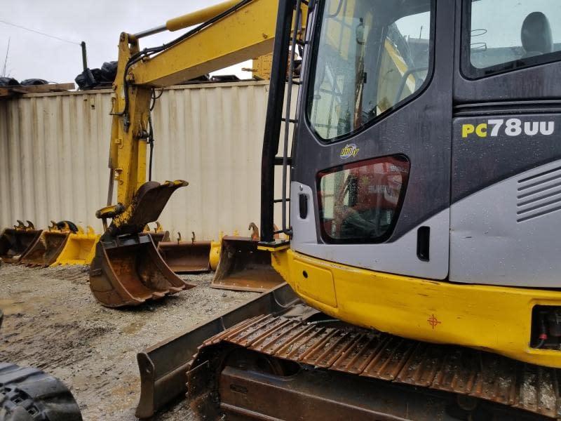 2007 Komatsu PC78US-6 Excavator